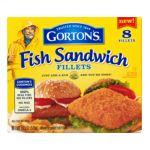 Gorton's Seafood -  Gordon's Fish Sandwich Fillets 0044400154406