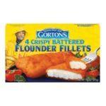 Gorton's Seafood -  Flounder Fillets 0044400159203