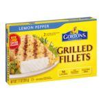 Gorton's Seafood -  All Natural Lemon Pepper Grilled Fillets 0044400172004