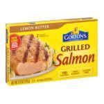 Gorton's Seafood -  Grilled Salmon Lemon Butter 0044400185004