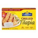 Gorton's Seafood -  Tilapia Fillets Grilled 0044400186001