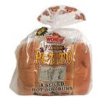 Wonder -  Country Potato Sliced Hot Dog Buns 0045000111097