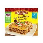 Old El Paso - Dinner Kit Soft Taco Bake 0046000287317  / UPC 046000287317