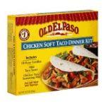 Old El Paso - Dinner Kit Chicken Soft Taco 0046000287379  / UPC 046000287379