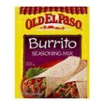 Old El Paso - Burrito Seasoning Mix 0046000288710  / UPC 046000288710