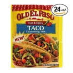 Old El Paso - Taco Seasoning Mix 0046000728223  / UPC 046000728223
