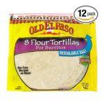 Old El Paso - Flour Tortillas For Burritos 0046000810584  / UPC 046000810584