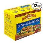 Old El Paso - Taco Salad Shells 0046000811710  / UPC 046000811710