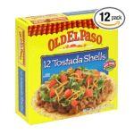 Old El Paso - Tostada Shells 0046000812014  / UPC 046000812014
