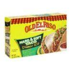 Old El Paso - Dinner Kit Hard & Soft Taco 0046000814247  / UPC 046000814247