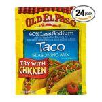 Old El Paso - Taco Seasoning Mix 0046000814513  / UPC 046000814513