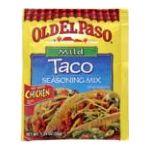 Old El Paso - Seasoning Mix 0046000815626  / UPC 046000815626