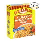 Old El Paso - Cheesy Mexican Rice 0046000823614  / UPC 046000823614