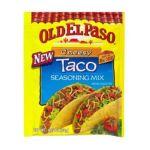 Old El Paso - Taco Seasoning Mix 0046000825113  / UPC 046000825113