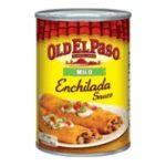 Old El Paso - Enchilada Sauce 0046000860312  / UPC 046000860312