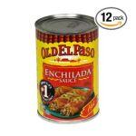 Old El Paso - Enchilada Sauce 0046000860510  / UPC 046000860510