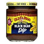 Old El Paso - Black Bean Dip Fat Free Medium 0046000868417  / UPC 046000868417