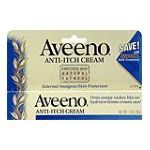 Aveeno - Anti-itch Cream 0046500034206  / UPC 046500034206