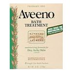 Aveeno - Moisturizing Bath Treatment 8 treatments 0046500034404  / UPC 046500034404