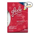 Glade - Holiday Plugins Scented Oil Refill With Free Warmer Apple Cinnamon 0046500703737  / UPC 046500703737