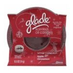 Glade - Scented Oil Candle Holder Apple Cinnamon 0046500724961  / UPC 046500724961