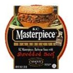 Armour -  Kc Masterpiece Barbecue Sauce With Shredded Beef 0046600051011
