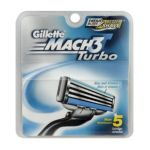 Gillette - Cartridges Mach3 Turbo 0047400074002  / UPC 047400074002