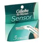 Gillette - Cartridges 5 each 0047400105089  / UPC 047400105089