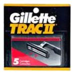Gillette - Cartridges 5 cartridges 0047400112407  / UPC 047400112407