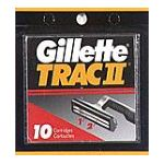 Gillette - Cartridges 10 cartridges 0047400112490  / UPC 047400112490