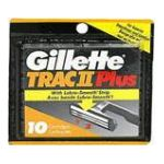 Gillette - Cartridges 10 cartridges 0047400112919  / UPC 047400112919