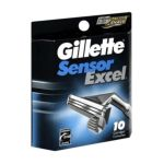 Gillette - Excel Refill Cartridges 10 0047400115484  / UPC 047400115484