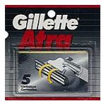 Gillette - Cartridges 5 cartridges 0047400117006  / UPC 047400117006