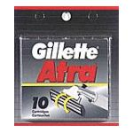 Gillette - Cartridges 10 cartridges 0047400117105  / UPC 047400117105