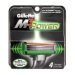 Gillette - Cartridges 4 refill cartridges 0047400135598  / UPC 047400135598
