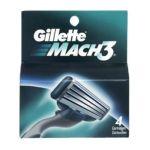 Gillette -  Mach 3 Cartridges 4 Refill Cartridges 4 cartridges 0047400179707