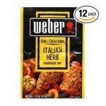 Weber -  Marinade Italian Herb 0047600011814
