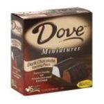 Dove -  Dark Chocolate Vanilla Or Chocolate Ice Cream 0047677000315