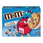 M&M's - M & M's M & M On Vanilla Ice Cream Ice Cream Sandwiches 0047677204324  / UPC 047677204324
