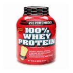 GNC -  Gnc Pro Performance 100% Whey Protein Banana Cream 5 lb 0048107080341