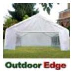 Ybarra -  Quictent X White Party Wedding Tent Carport Canopy Car Shelter With Sidewalls 0048327203520