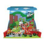 Wilton -  Perler Beads Emergency Vehicle Playset 0048533540761