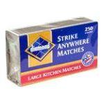 Diamond -  Strike Anywhere Matches 250 count 0048789021229