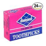 Diamond -  Home Brands 41853 Round Toothpick 0048789418531