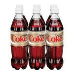 Coca-Cola - Cola Diet Caffeine Free 6 ea 0049000023459  / UPC 049000023459