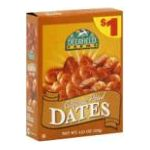 Deerfield Farms -  Dates California Pitted 0049022387324