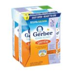 Gerber -  Good Start Gentle Infant Formula Ready To Feed Tetra Pack Birth+ Pack 0050000568710