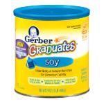 Gerber -  Graduates Infant Soy Based Formula Powder Canister 0050000630219