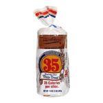 EarthGrains -  Reduced Calorie Vegetable Fiber White Bread 0050400724273