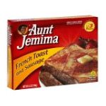 Aunt jemima - French Toast And Sausage 0051000063915  / UPC 051000063915